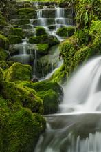 Badger Falls Between Upper And...