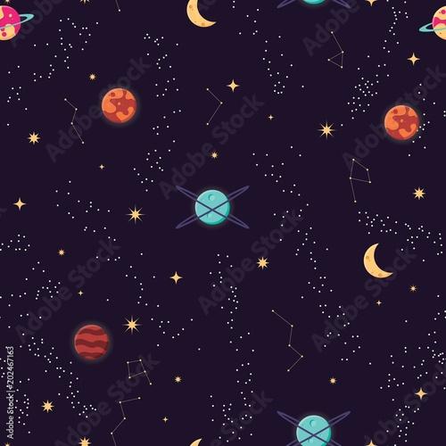 wszechswiat-z-planetami-i-gwiazdami
