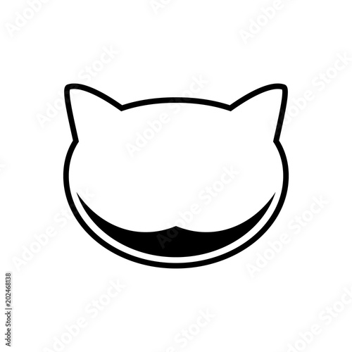 Cheshire Cat, icon Fototapet