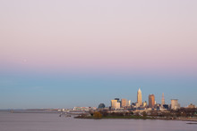 The Cleveland Skyline With A P...