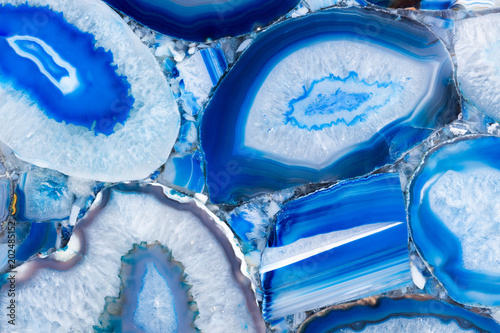 Fototapety tekstury  agat-texture-with-extraordinary-ornamental-blue-surface