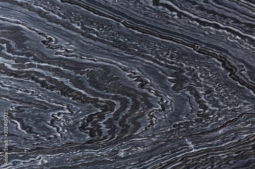 Stickers pour porte Marbre Ornamental hard quartzite texture in elegant dark colour.