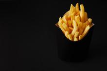 Black Box Of Tasty French Frie...