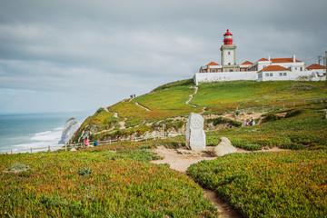 Fototapeta na wymiar Lighthouse of Cabo da Roca (Portugal)