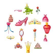 Princess Fairytale Doll Icons ...