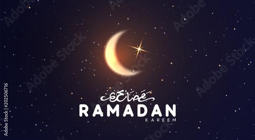 Ramadan vector background arabic calligraphic text of ramadan ramadan vector background arabic calligraphic text of ramadan kareem night view of starry sky m4hsunfo