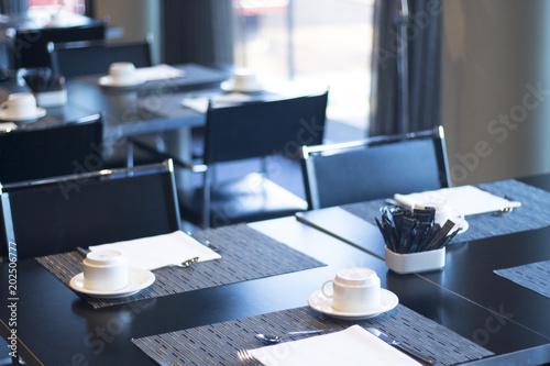 Restaurant cafe bar in luxury hotel Fototapet