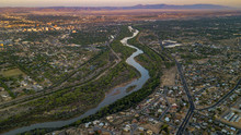 Rio Grande River In Albuquerqu...