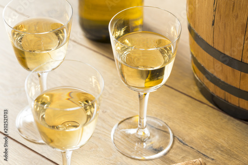 Fototapeta Dry French Sherry Dessert Wine