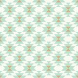 wektor plemiennych kilim mięta i złoto geometryczne bezszwowe powtarzać wzór backround - 202533978