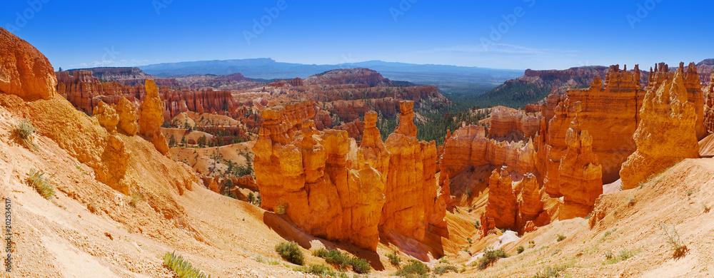 Panoramic view of Bryce Canyon National Park - Utah, USA