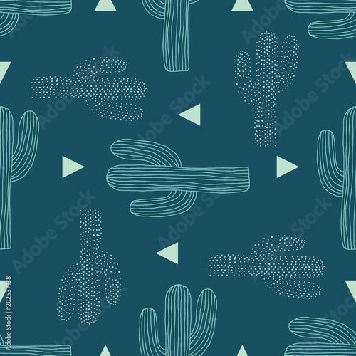 wektor-saguaro-kaktus-rzucac-turkusowy-bezszwowe-tlo-wzor-powtarzac