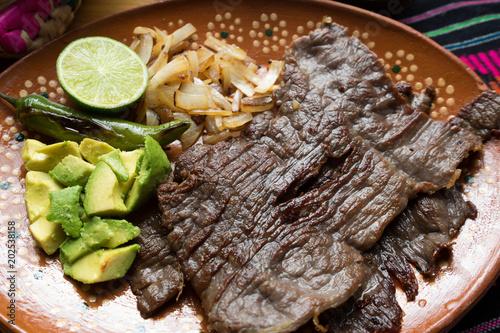 Papiers peints Steakhouse Mexican dried meat