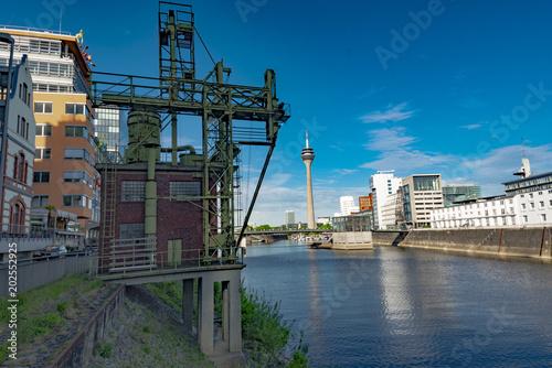 Foto op Plexiglas Chicago Düsseldorf am Rhein