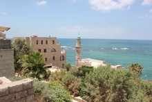 Old Jaffa, Al-Bahr Mosque, Tel...