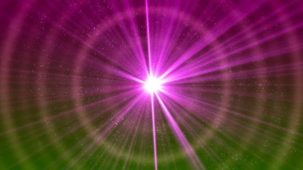 Background with nice pink star