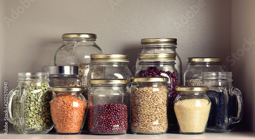 Cadres-photo bureau Graine, aromate Collection of grain products