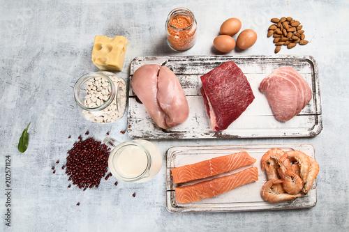 Papiers peints Secheresse Food high in protein