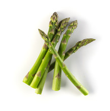 Bunch Of Raw Garden Asparagus