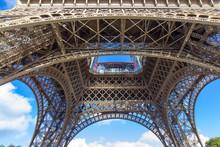 Eiffel Tower - Detail, Paris, France