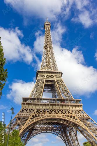 Poster Eiffel tower, Paris, France