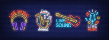 Live Sound Music Neon Signs Co...