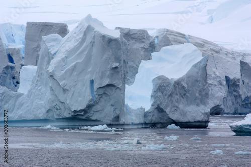 Keuken foto achterwand Antarctica Antarktis-Gletscher