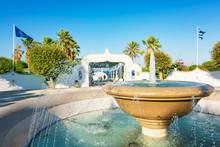 Circular Water Fountain In Kal...