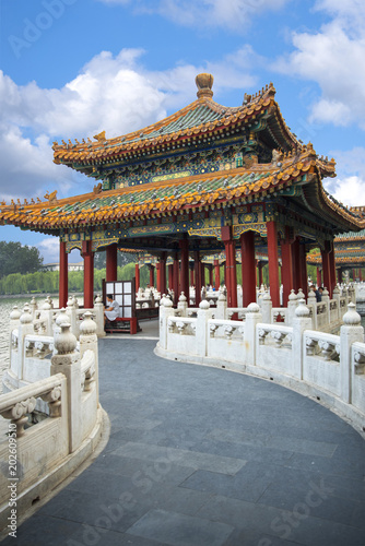 Foto op Canvas Peking Beihai Park is an imperial garden