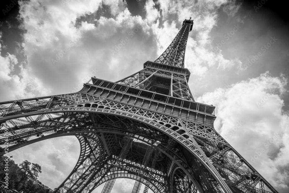 Fototapeta Eiffell tower - Paris - obraz na płótnie
