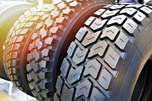 Tread Pattern On Wheel Tire Tr...