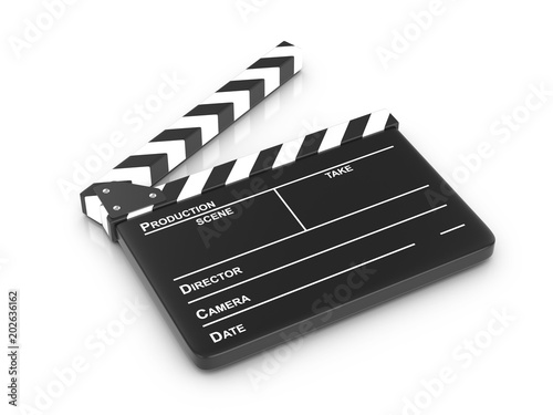 Photographie Clapper board