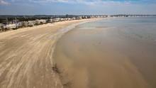 Drone View Of The La Baule Cit...