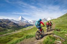 Mit Dem Mountainbike Vorbei Am...