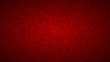 Abstract Background Of Very Small Squares Of Different Sizes