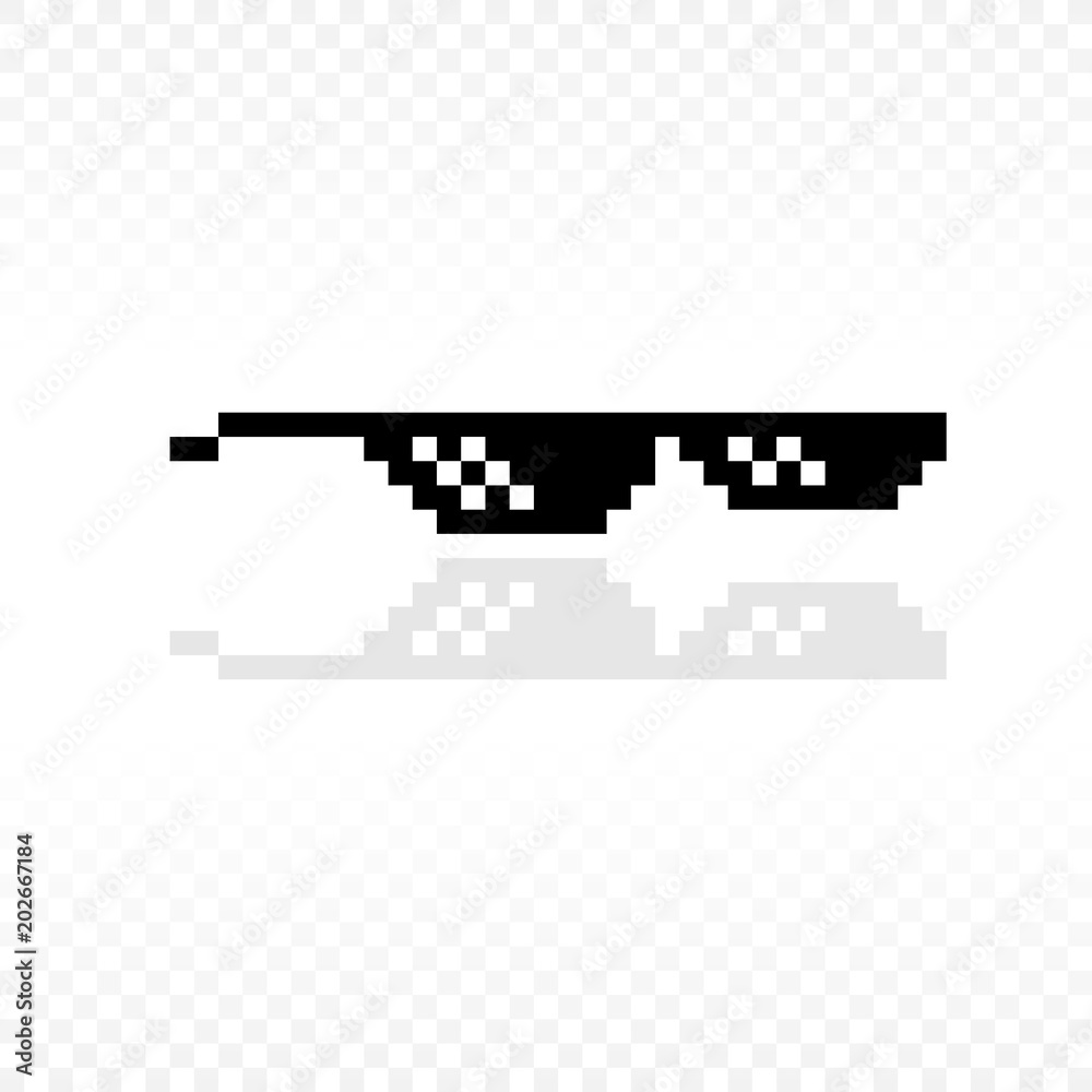 0ef46dbf Photo & Art Print Meme glasses or Thug life or Like a boss or Deal with it  | EuroPosters