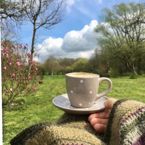 Fotografia, Obraz  Café,relax, jardin bonheur