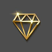 Diamond Brilliant Shape Made O...