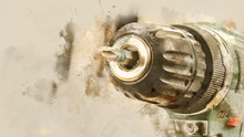 Cordless Drill Close-up