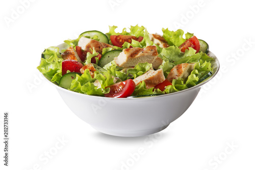 Stampa su Tela Chicken salad