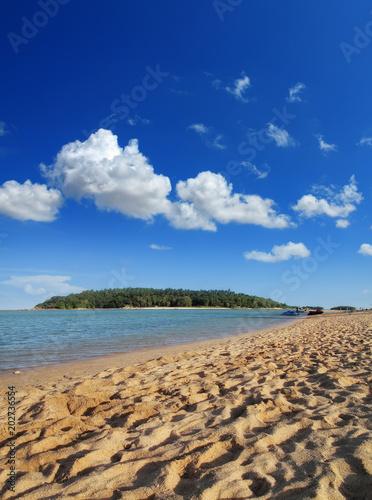 Foto op Aluminium Cathedral Cove beautiful beach
