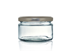 Glass Jar For Canning With Iro...