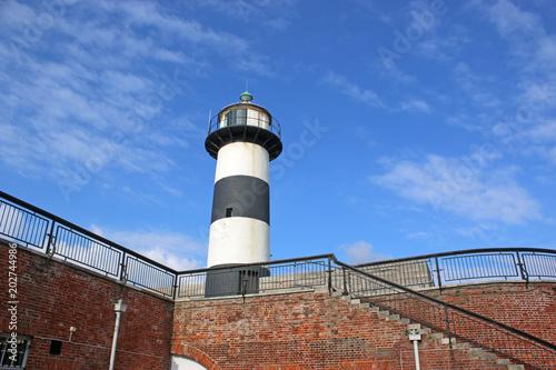 Poster Vuurtoren Lighthouse at Southsea Castle