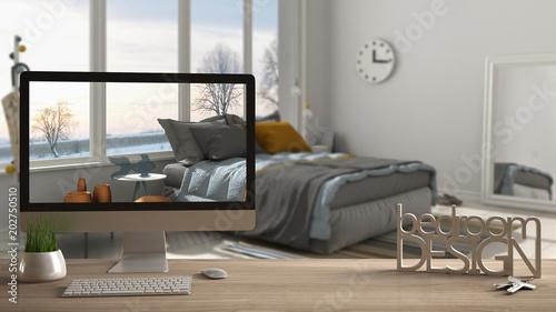 Architect Designer Project Concept Wooden Table With Keys 48D Unique Bedroom Concepts Concept Interior