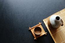 Japanese Sake Oriental Drink S...