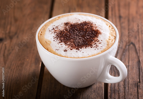 Fototapeta Cup of cappuccino coffee obraz
