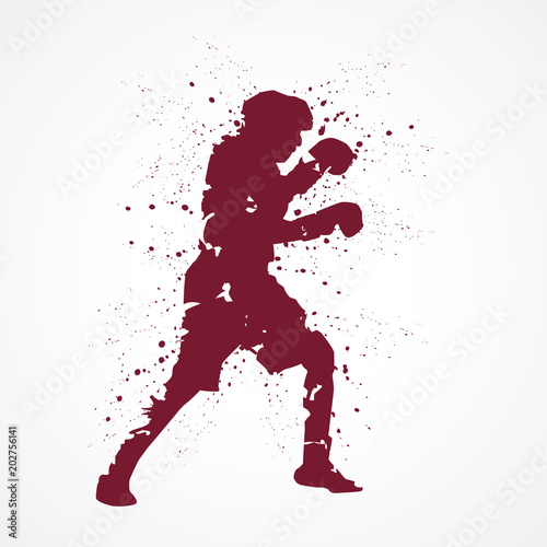 Boxeur-tâches rouges © lil_22