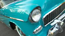 Detail View Of Vintage Car Fea...