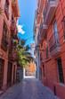 Altstadtgasse Valencia, Hochformat