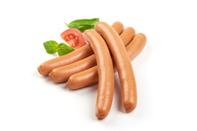 Wiener Boiled Sausages On The ...
